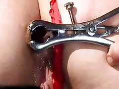 Hot Brunette Being Painfully Punished And Fucked
