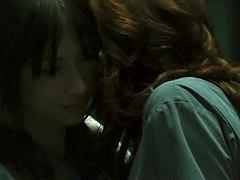Lauren Lee Smith  Amp Amp  Mei Melancon   Pathology Lesbian Kissing