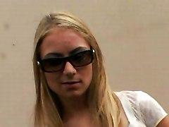 Thin Blond Teen Hottie Shagging