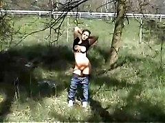 Outdoors Blowjob