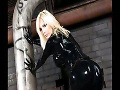 Susan Wayland In Black Latex