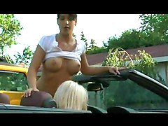 Wet Lesbians And Cars