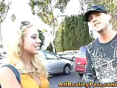 Shawn Jiggles Her Huge Guns