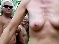 Wife Jerking Strangers At Nude Beach