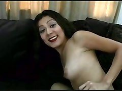 Hottie Takes On A New Cock