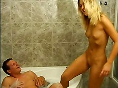 Mature Fucks Small Tits Blonde Girl In Jacuzzi