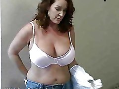 Laundry Obsessed Milf Mama Fucks College Stud