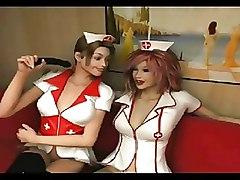 3d Dickgirl Nurse