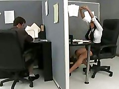 Busty Office Sluts Get Banged In The Archive Room