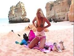 Sexy Babe Posing On The Beach