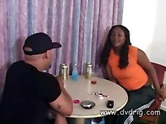 Ebony Milf Chick Anatanique Gives A Great Blowjob And Spread