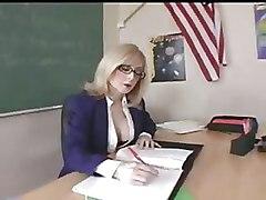 Milf Teacher In Glasses Gets A Classroom Hardcore Fucking