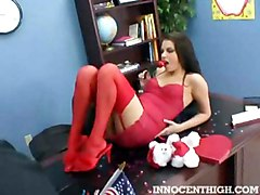Missy Stone Waits In His Office