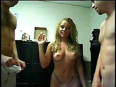 Monica Sucking Her Two Friends