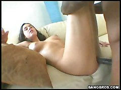Really Long Dick Gets Stuffed In Her Hole