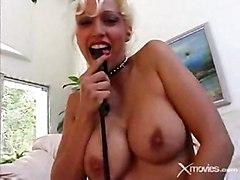 Nikki Hunter Fucks Two Hard Cocks