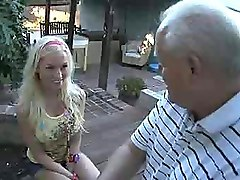 Busty Teen Seduces Her Boyfriends Old Fart Dad For Sex
