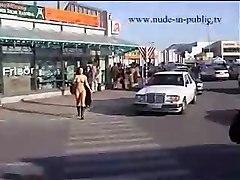 Nude In Public 21  Walk Through Town