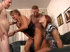 Two Different Foursomes Included In Clip