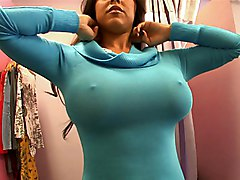 Can I Squeeze Your Huge Round Boobs?