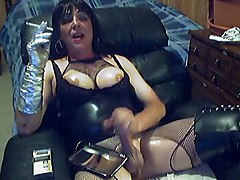 Fetish Transgender Smoking   Wanking