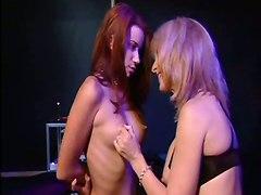 Nina Hartley Fucks Her Sexy Slave Girl