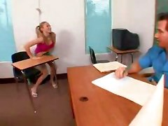 Big Tit Naughty Student Gets Fucked In Class