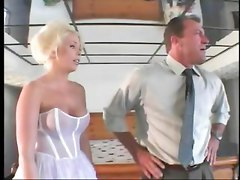 Hot Looking Blonde Bride Gets Hard Fucked