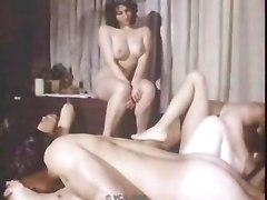 Georgette Sanders Fucks In Classic Orgy (1976)
