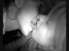Lesbian Amateur Kiss Blonde