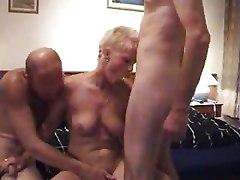 Milf Amateur Threesome