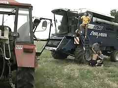 Orgy On The Tractor