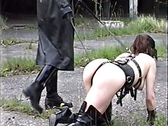 German Fetish Fuck In Thigh Boots!