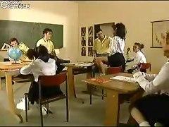 German Schoolgirls Having Fun