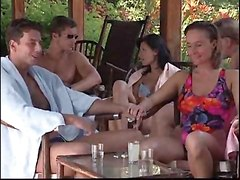 An Outdoor Orgy For A Bunch Of Horny People