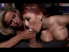 Two Mature Whores For So Big Prick