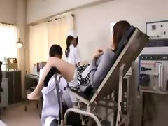 Japanese Nurse Wants The Doctor To Eat Her Pussy