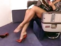Carrie Jones In Kerrys Foot Fantasies