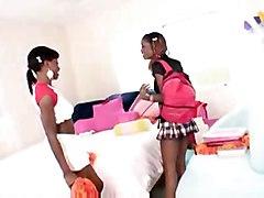 Chocolate Sorority Sistas 5 Ebony Lesbians Lacey Duvalle