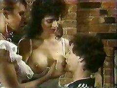 Vintage Threesome With Vampy Milfs