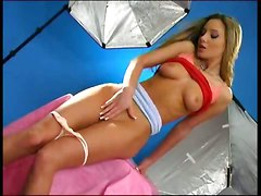 Eurobabe Sexy Wind Blowin\ Photo Shoot