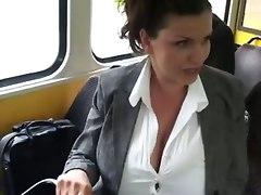 Milking In A Bus