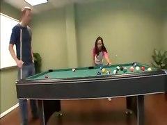 Hot Play On The Billiard Table
