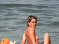 Incredible Beach Boobs Women France