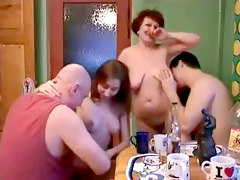 Russian Swingers Old And Young