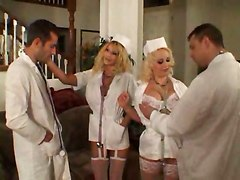 Sex Therapy With Busty Nurse