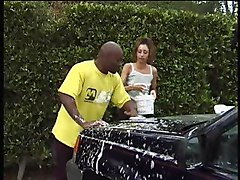 18 Year Old Loves Her Neighbors Black Dick