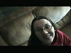 Nerdy Girlfriend\s Anal Creampie