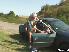 Granny Have To Pay For A Ride