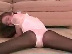 Melissa Ashley Pantyhose Leotard Solo